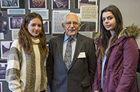 Harry Olmer - Holocaust Survivor tells Woodhouse students his story