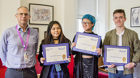 Jack Petchey awards 2017