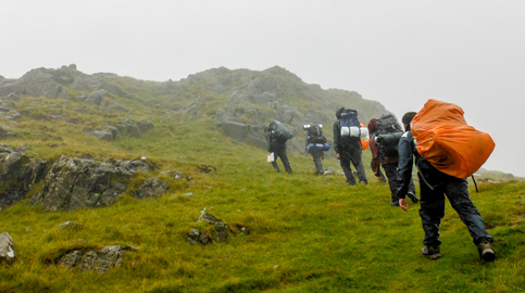 D of E Gold expedition to Lake District