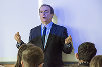 Peter Hitchens sparks a lively debate at Woodhouse College