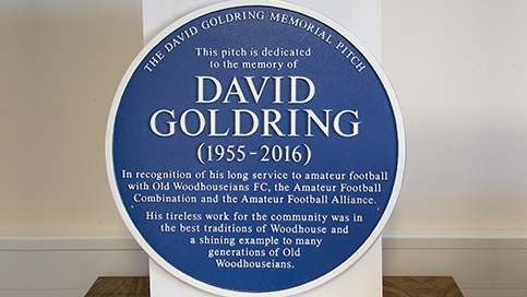 Woodhouse remembers David Goldring
