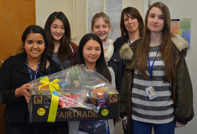 Students Go Bananas for Fairtrade!