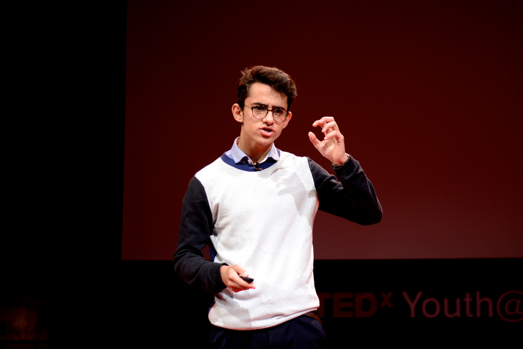 The Spirit of Justice - Woodhouse students Yousif Alawoad speaks at TEDxYouth