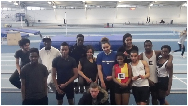 Woodhouse students compete in athletics competition