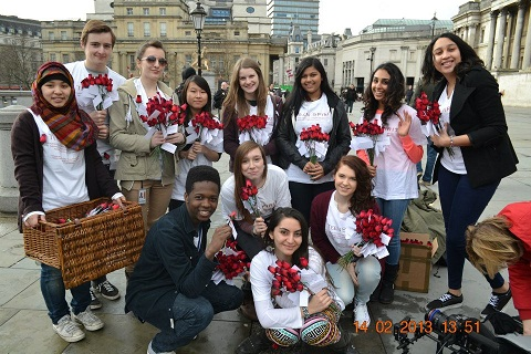 Teen Spirit spreads kindness in central London