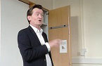 "Feargal Sharkey at Woodhouse: ""Go out there and live your dream"""
