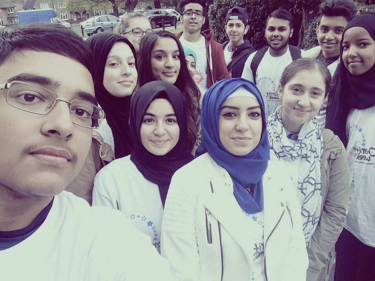 Woodhouse College Islamic Society has raised an astonishing amount of £4860.07