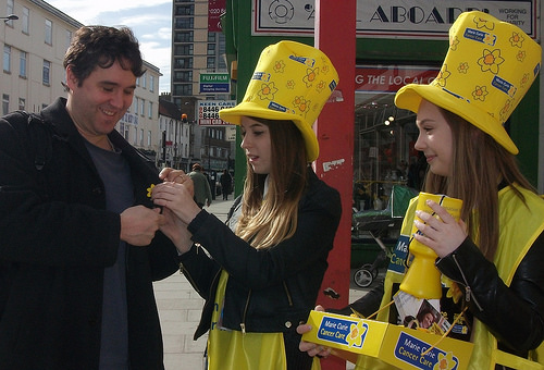 Students raise over £500 for Marie Curie charity