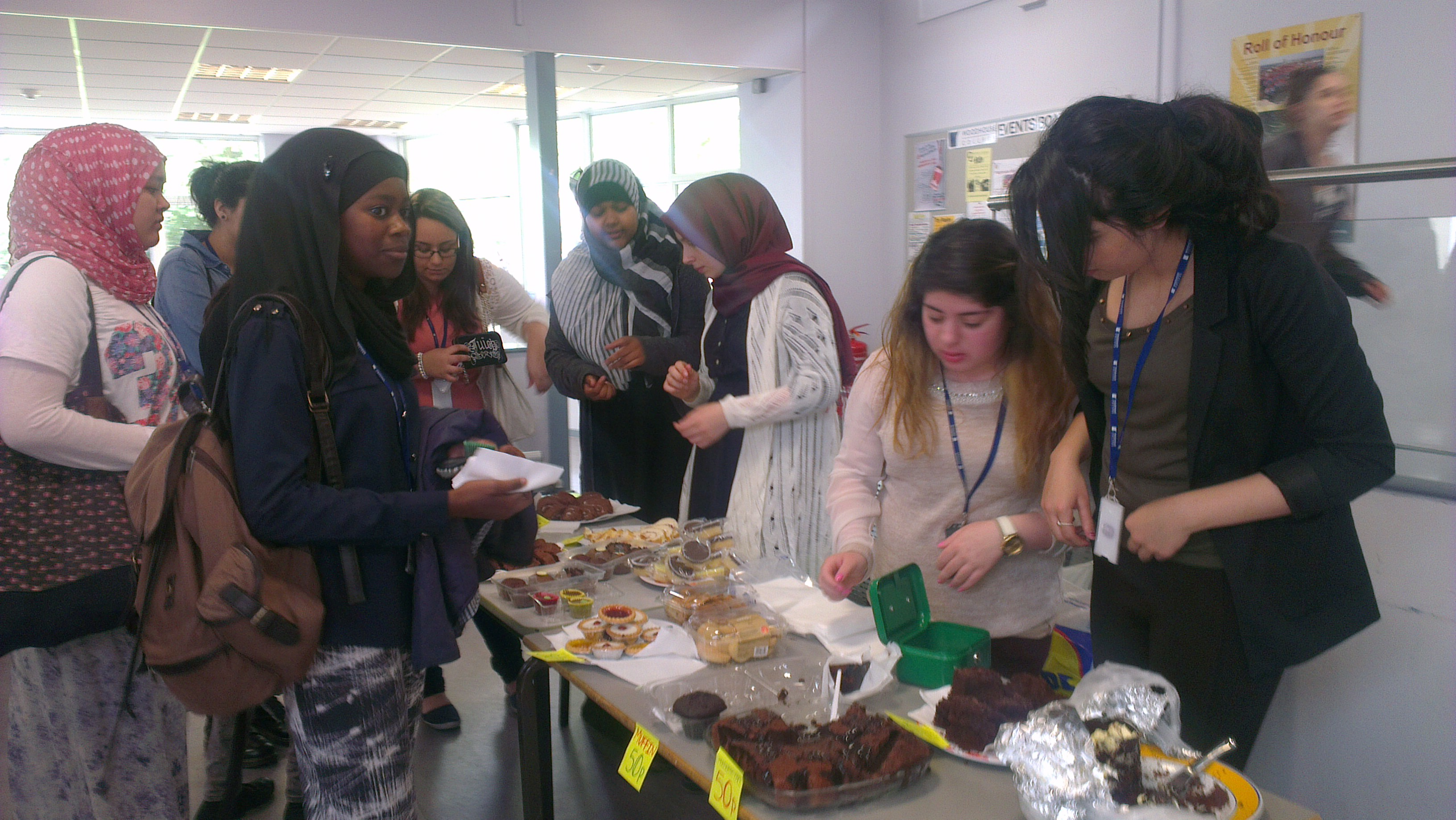 Students Raise Money for Burned Down Community centre In Muswell Hill
