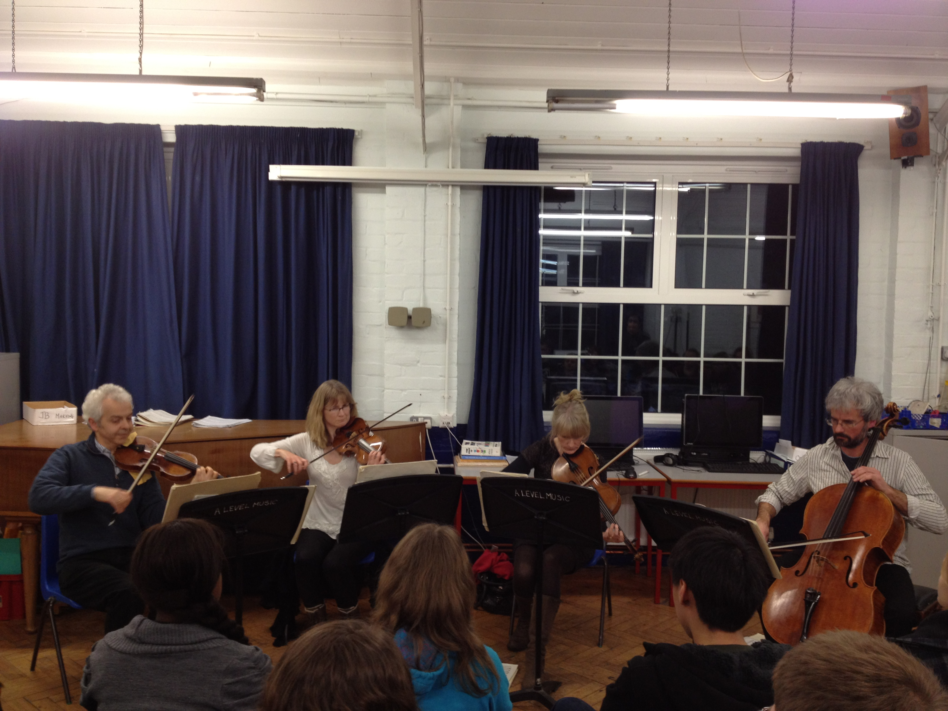 Emperor String Quartet comes to Woodhouse College