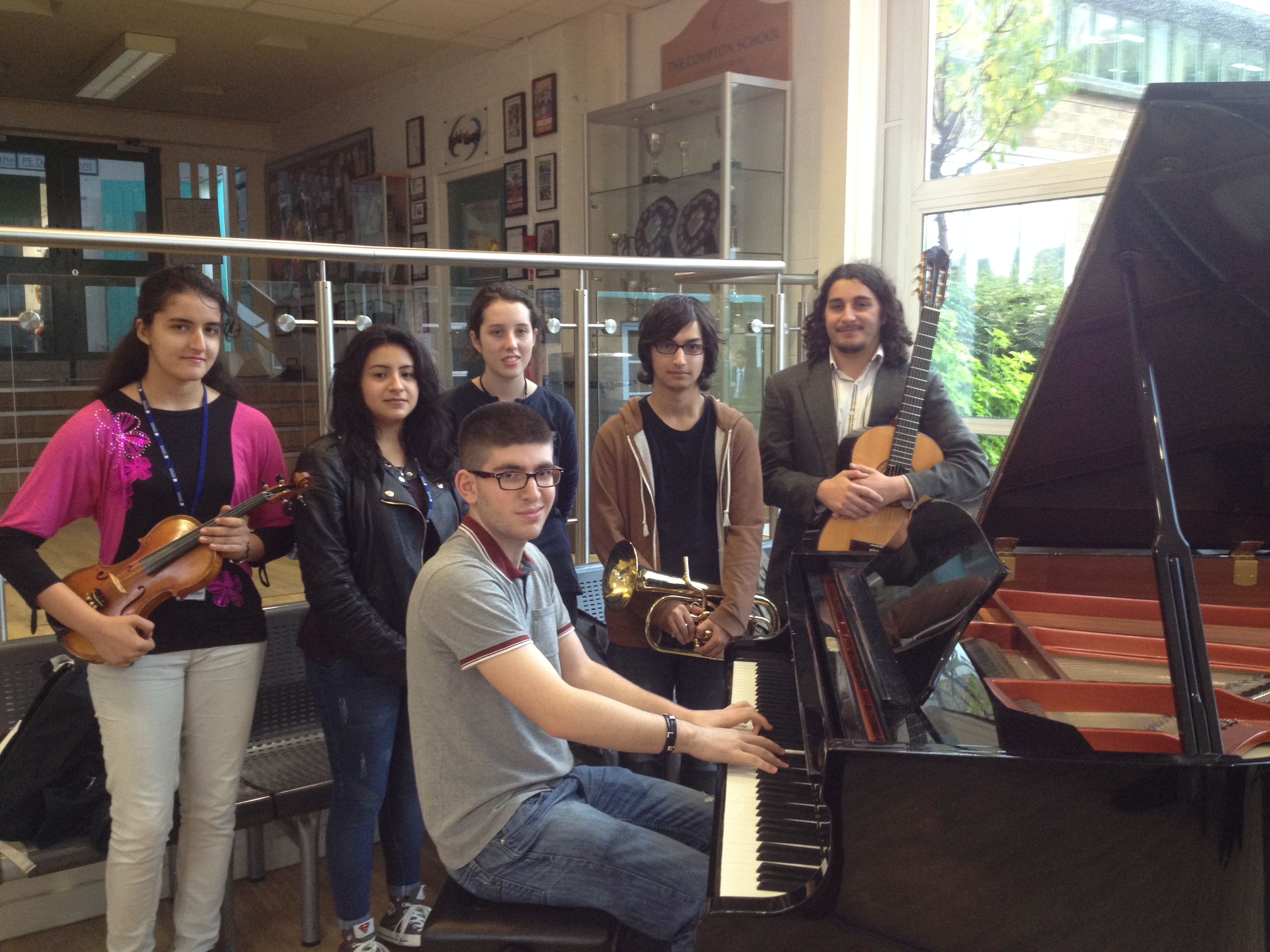 Woodhouse Music students play The Compton