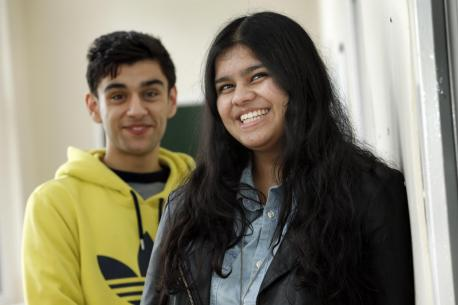 Eight students this year have been offered places at Oxford and Cambridge universities.