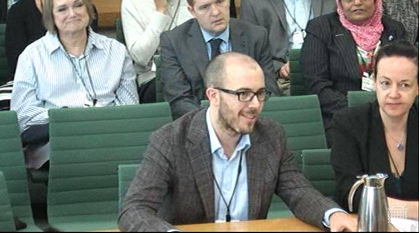 Woodhouse Head of Biology speaks at Parliamentary Committee