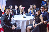 Students bond at 007 Leavers Prom