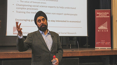 NIESR and Woodhouse host economics conference