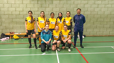 Woodhouse Girls win futsal & tickets to Wembley