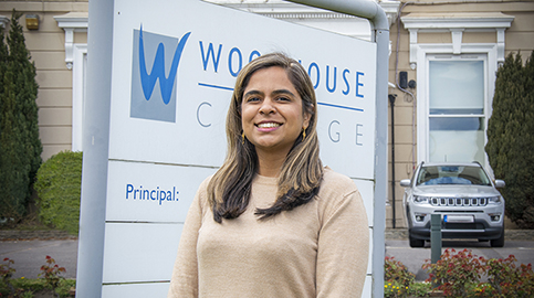 Woodhouse welcomes new Principal Sugra Alibhai