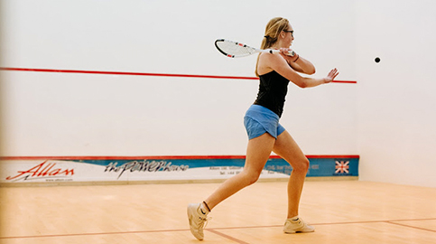 Student Margot secures squash scholarship in USA