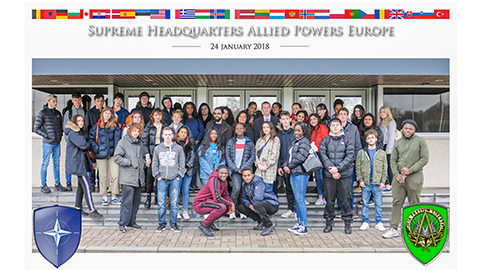 Politics students visit NATO and European parliament